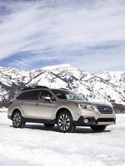 The 2017 Subaru Outback, which ranks No. 48 in the