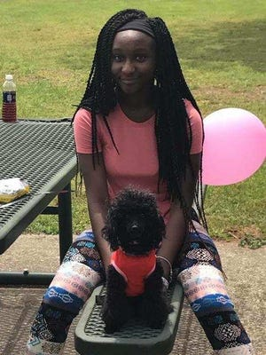 De'Anah East, 12, died after a fire at her Westmont Street home on Sunday, July 30, 2017.