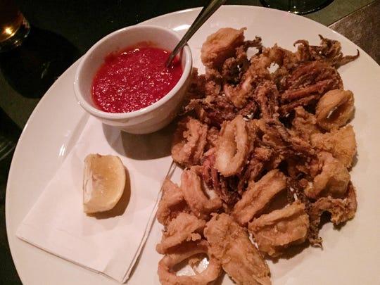 Fried calamari at Diavola.