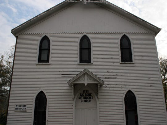 Ghost hunters will go inside the Big Bone Methodist