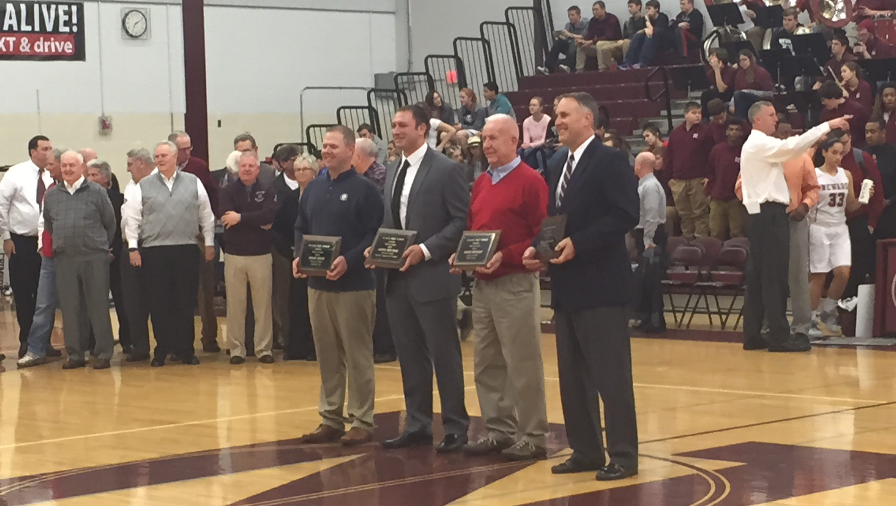 Newark inducts 4 into athletic Hall of Fame