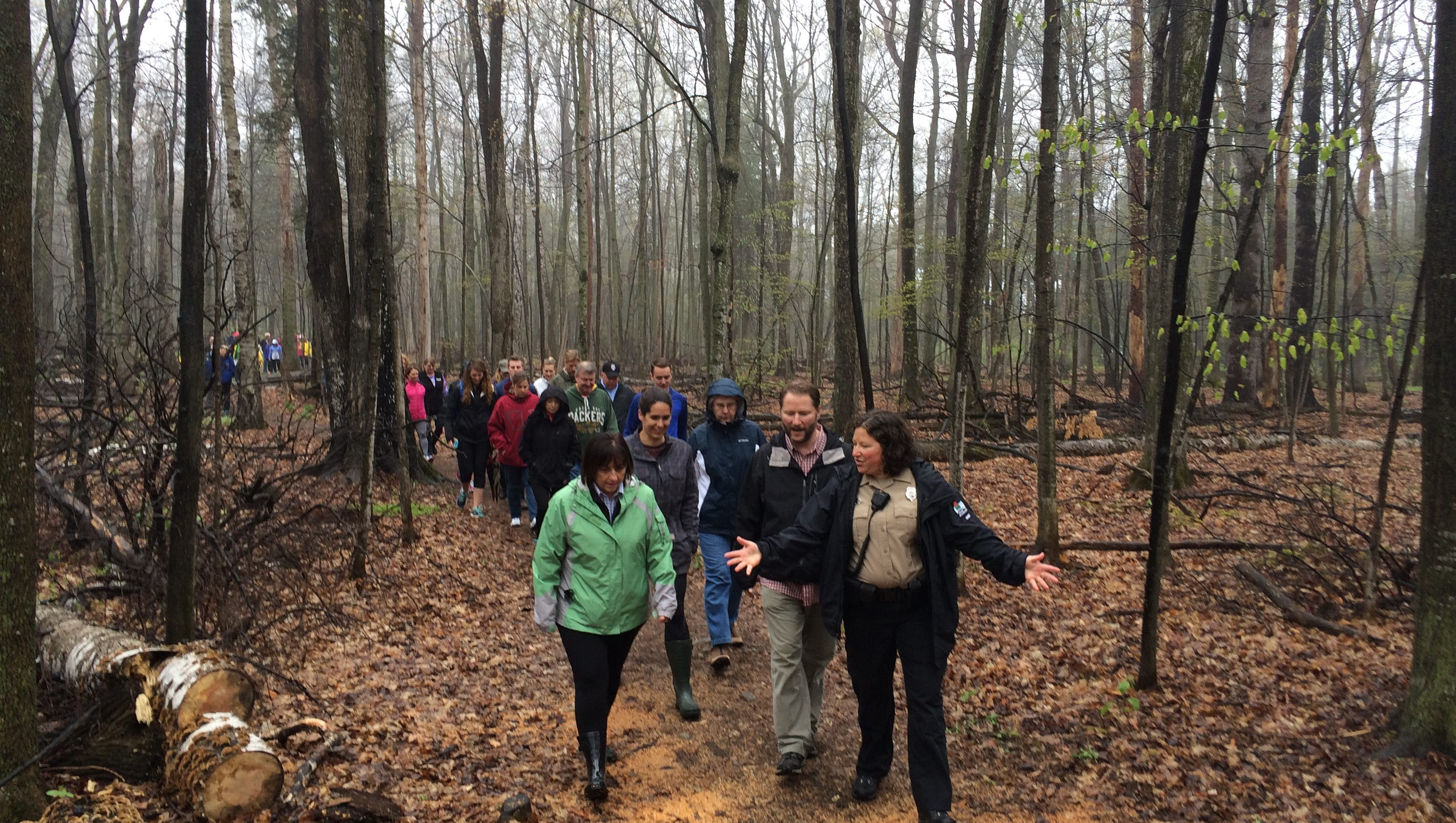 First Lady Takes 50th Walk In Door County