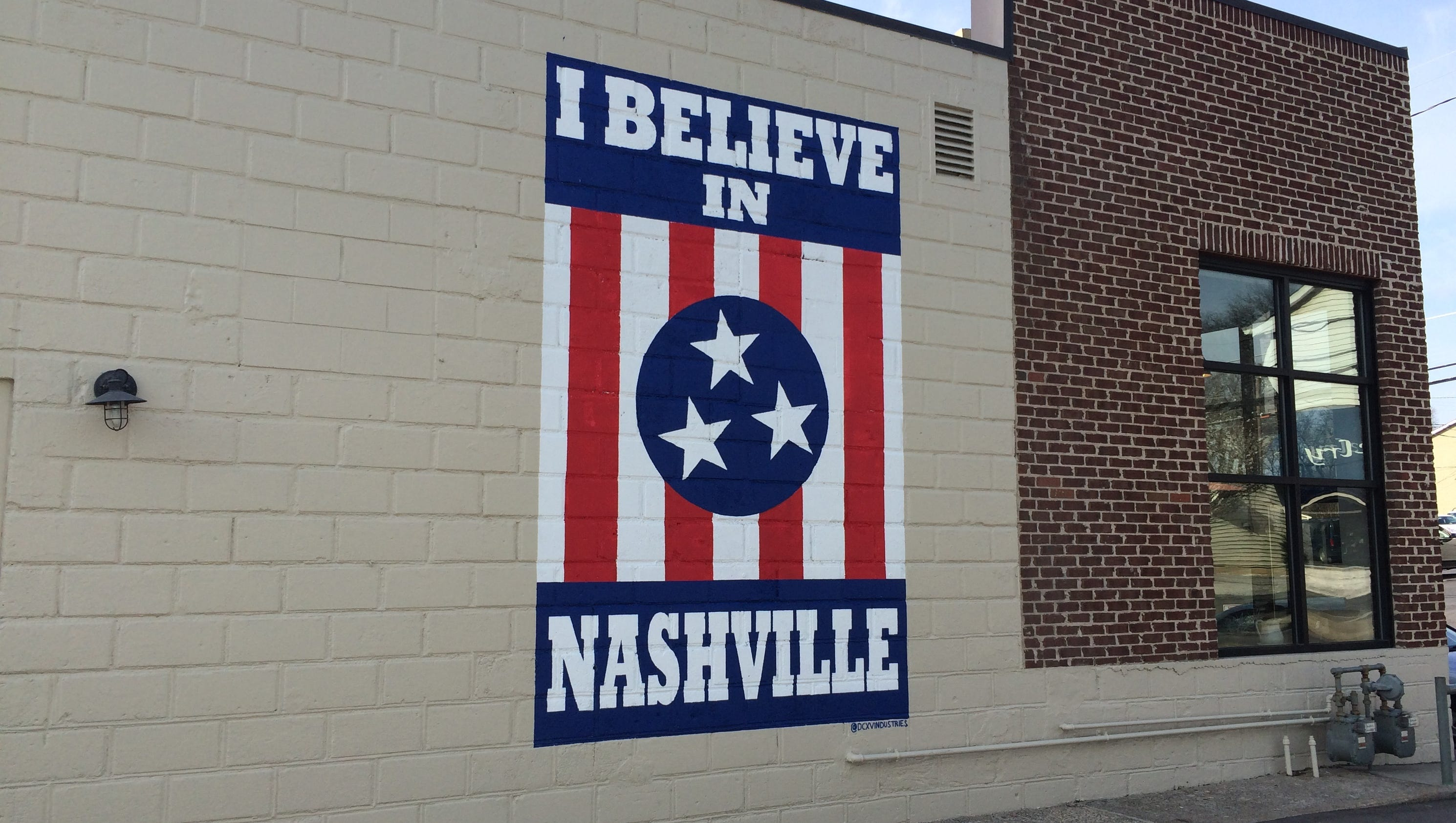 Nashville Wall Art see 12south's restored 'i believe in nashville' mural