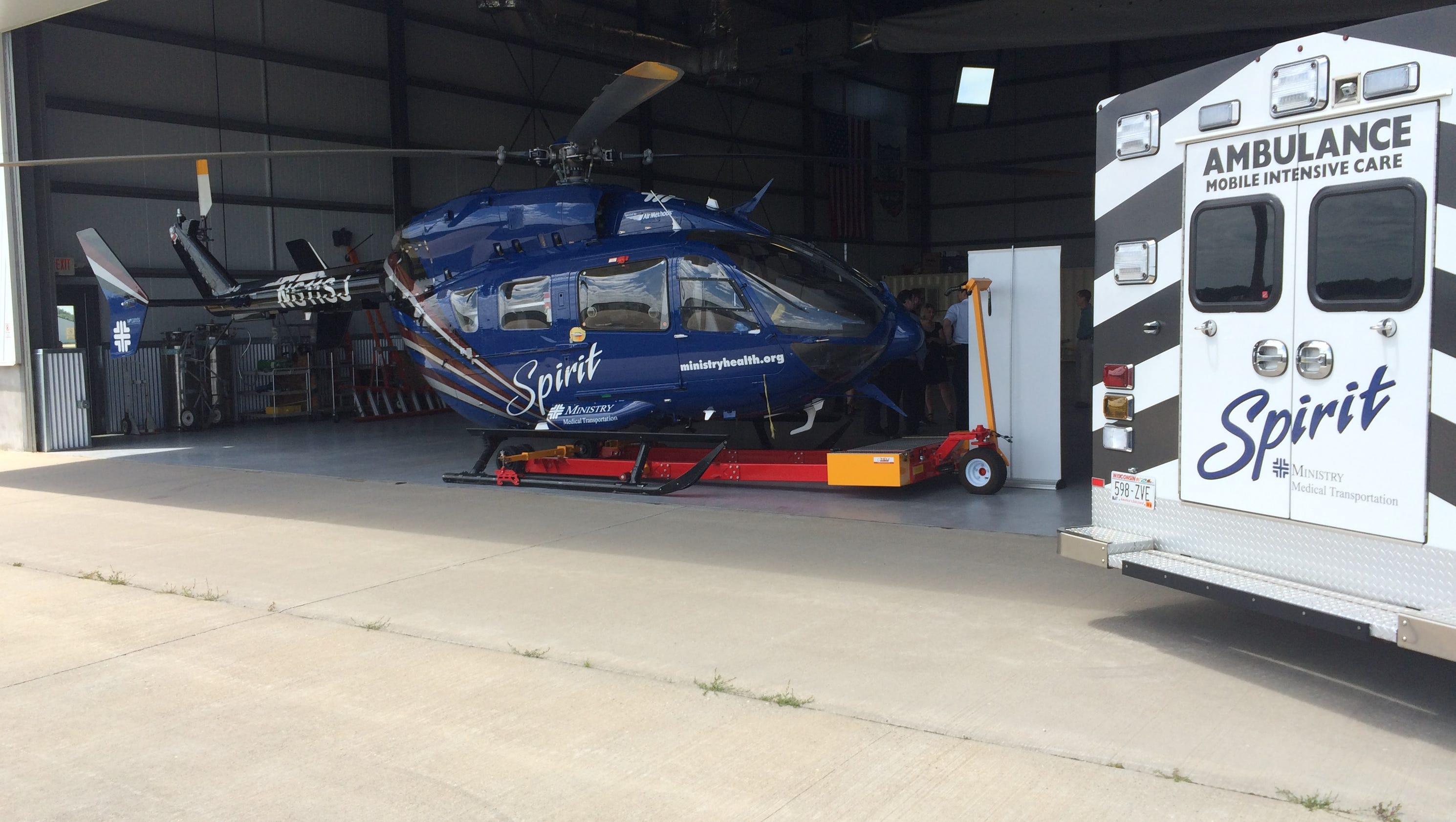spirit medical transportation services moves to stevens point