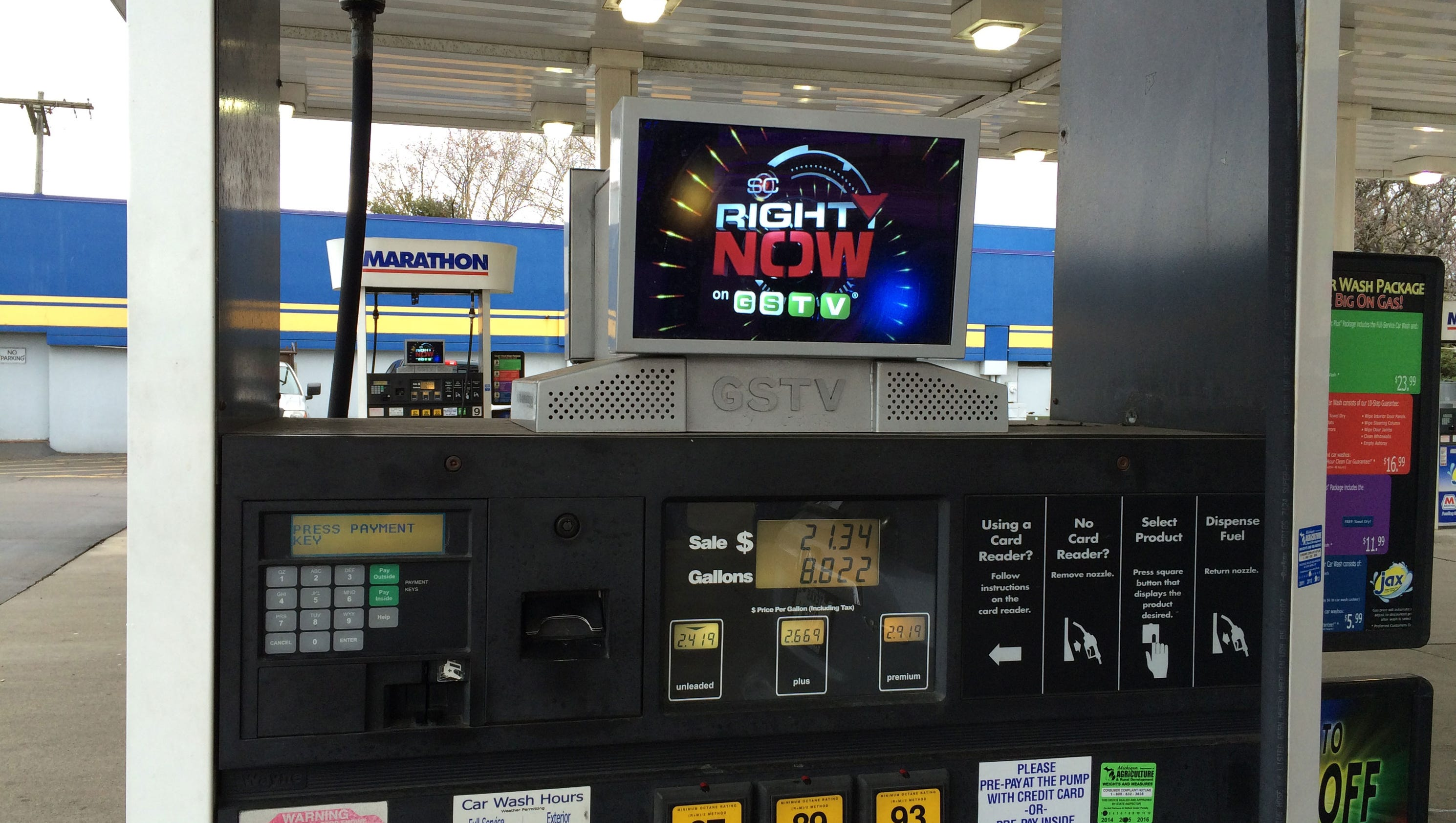 Mobil Gas Card >> Tom Walsh: Gas Station TV moves pumps more growth into downtown
