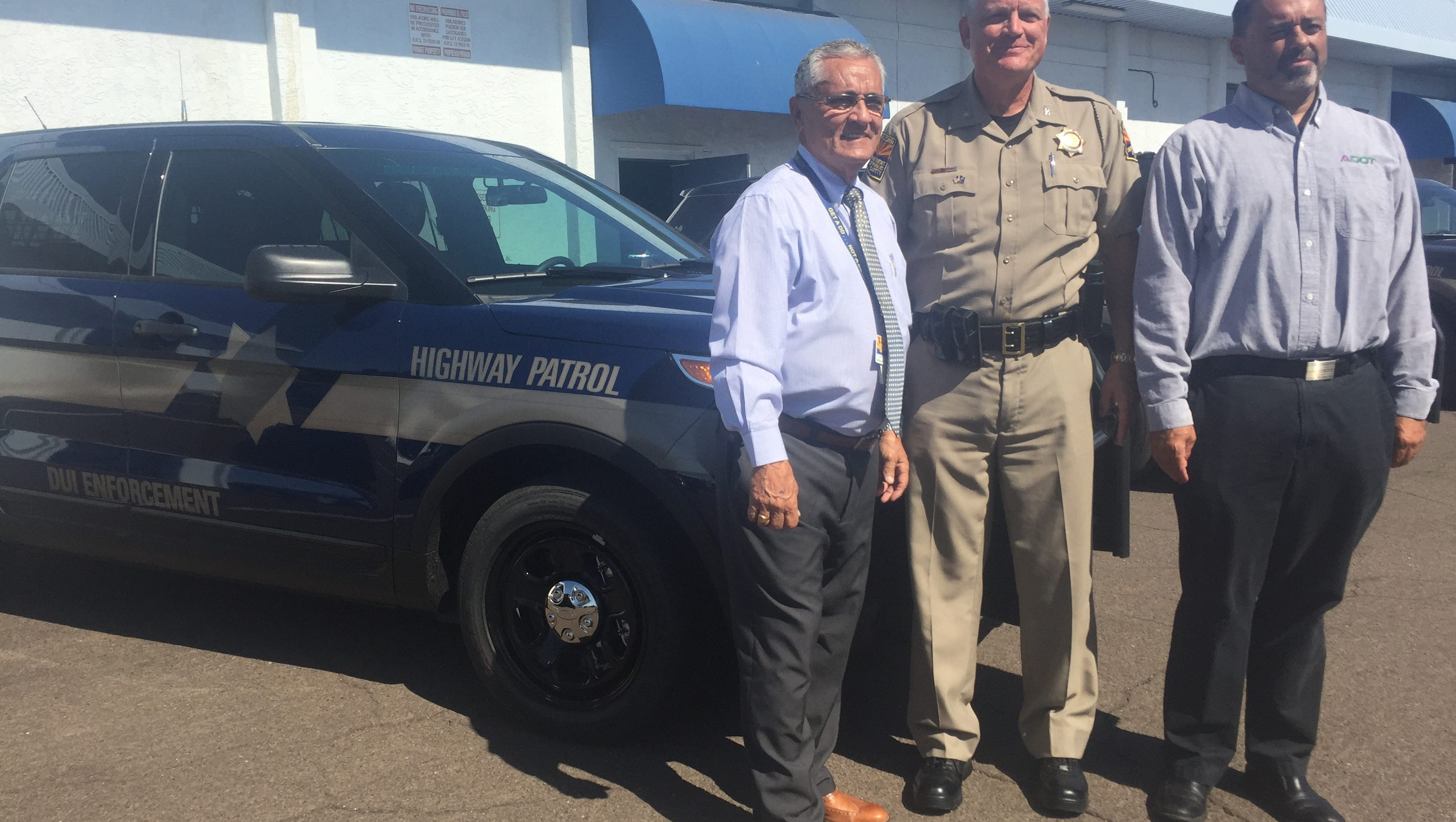 DPS unveils ghost cars for holiday DUI enforcement