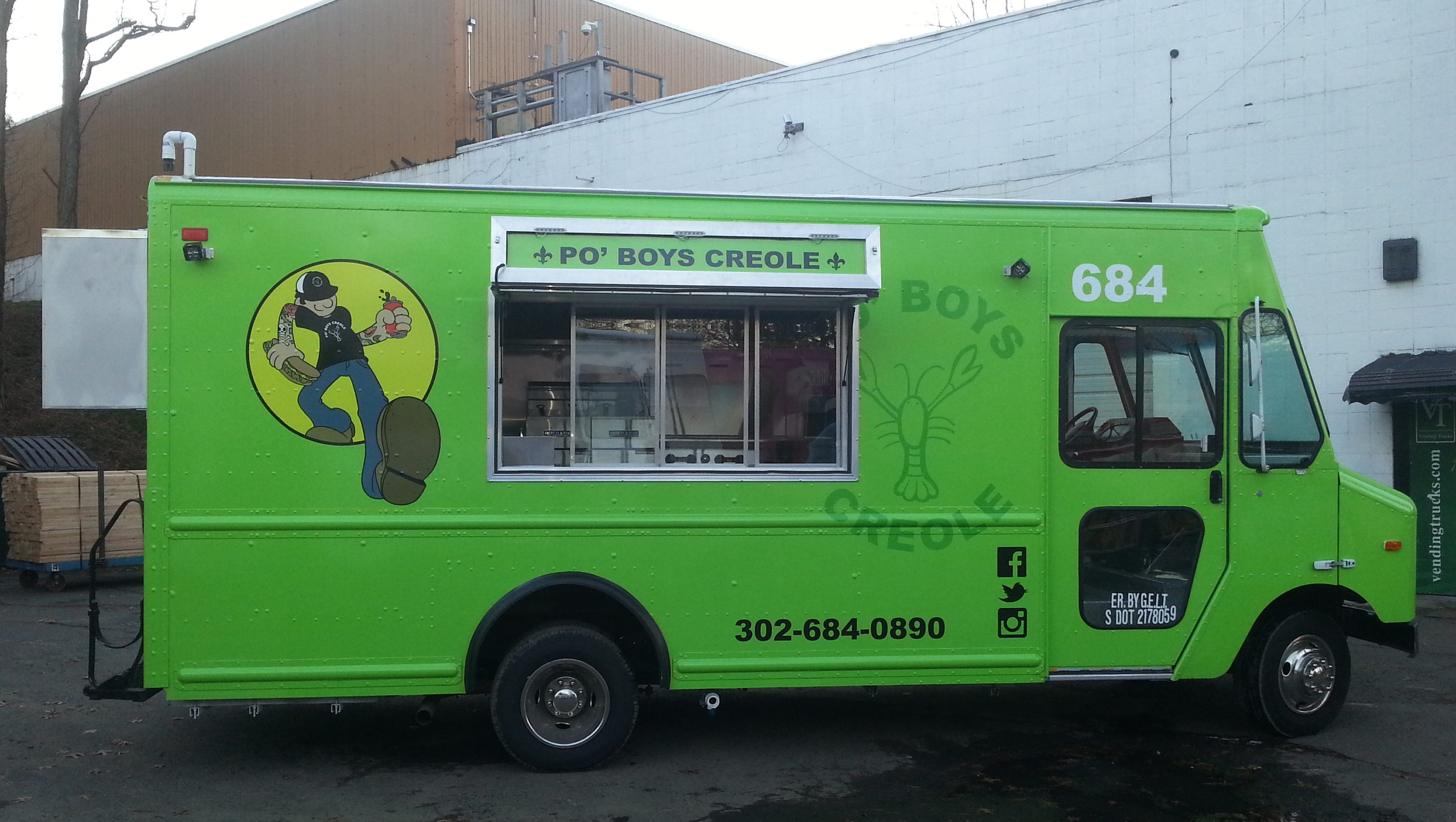 po 39 boys debuts new food truck. Black Bedroom Furniture Sets. Home Design Ideas