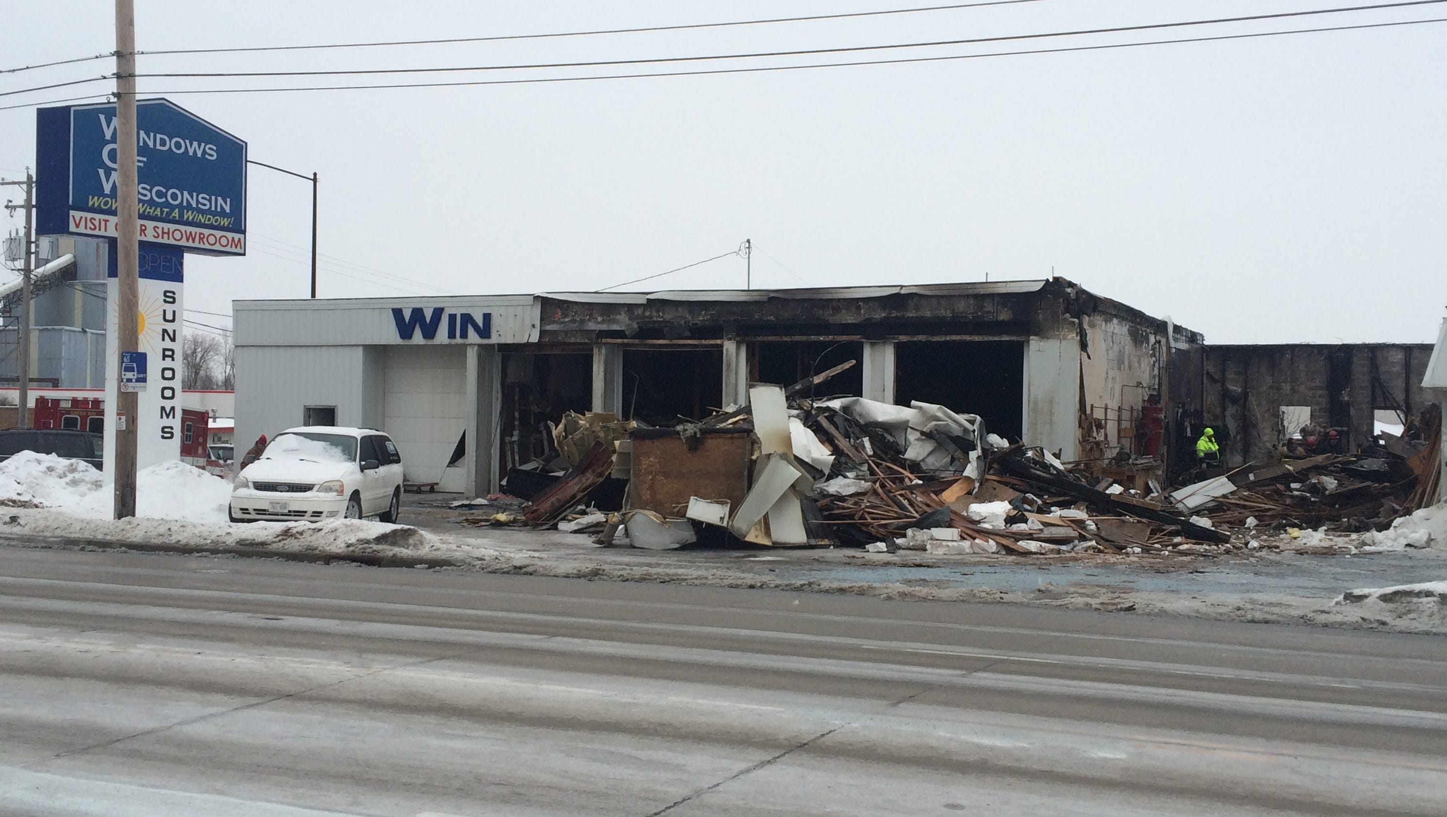 Fire damages window manufacturer for Wisconsin window manufacturers