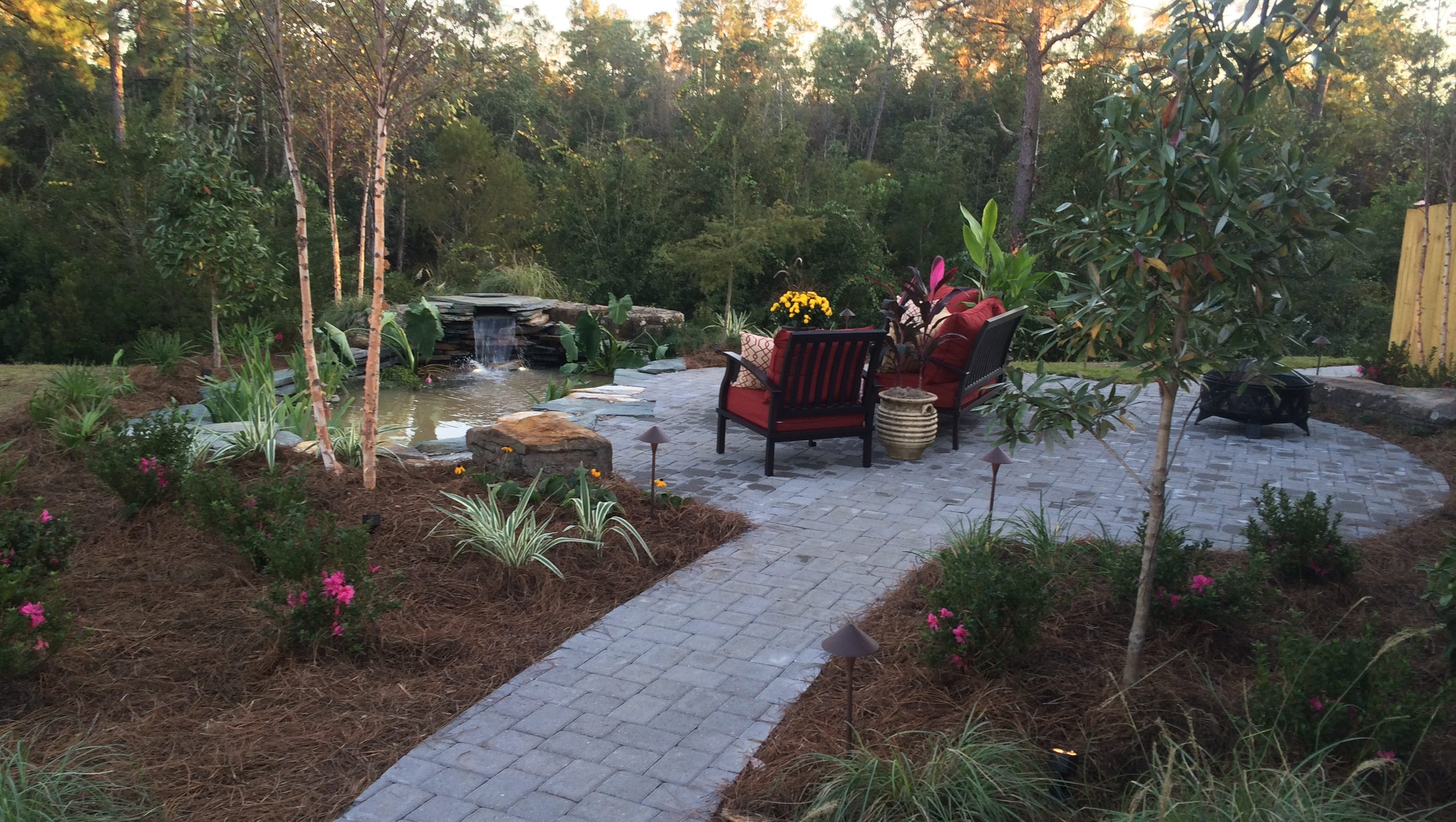 Landscapers featured on lifetime 39 s designing spaces for Local landscapers