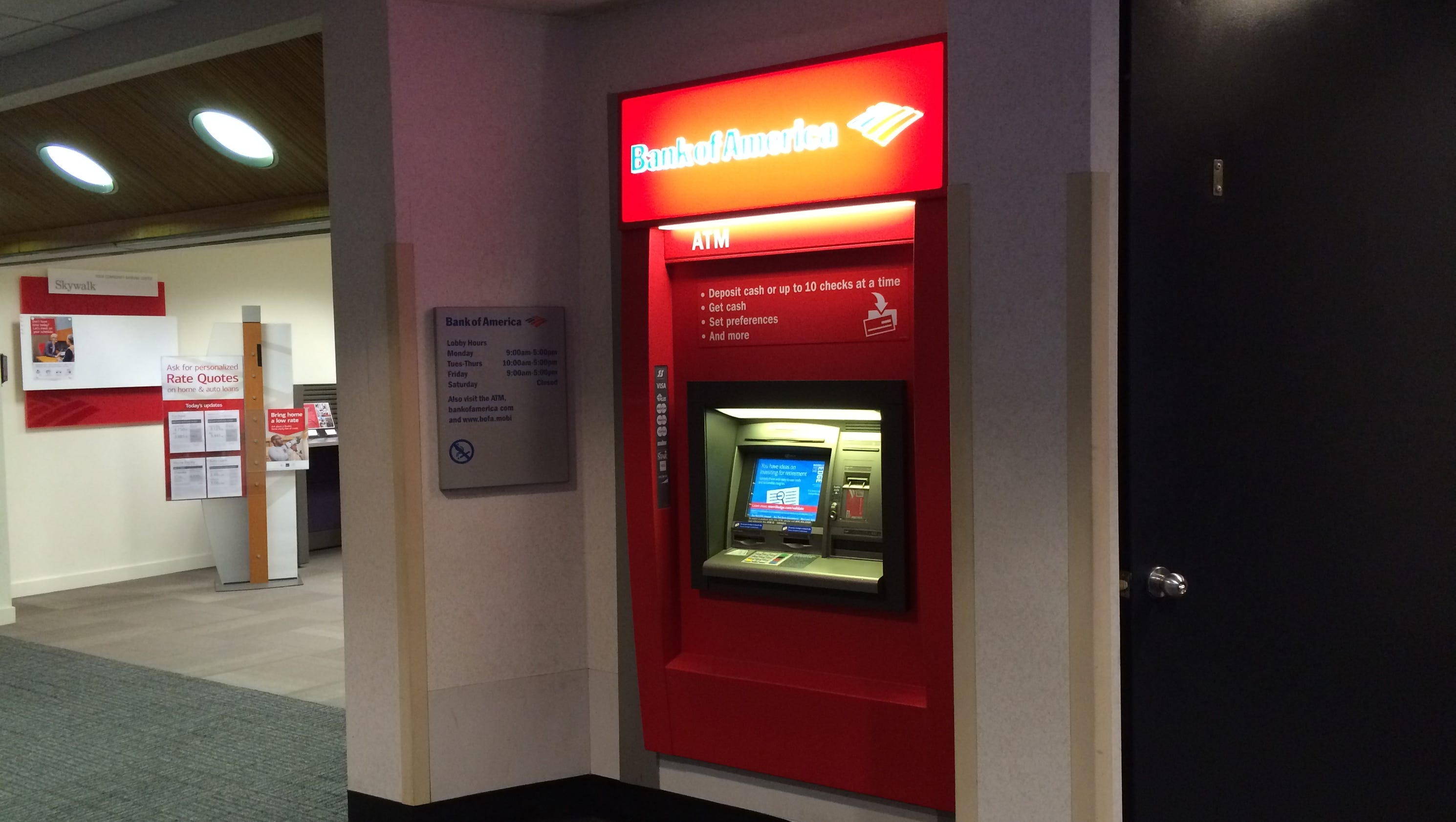how to close account bank of america