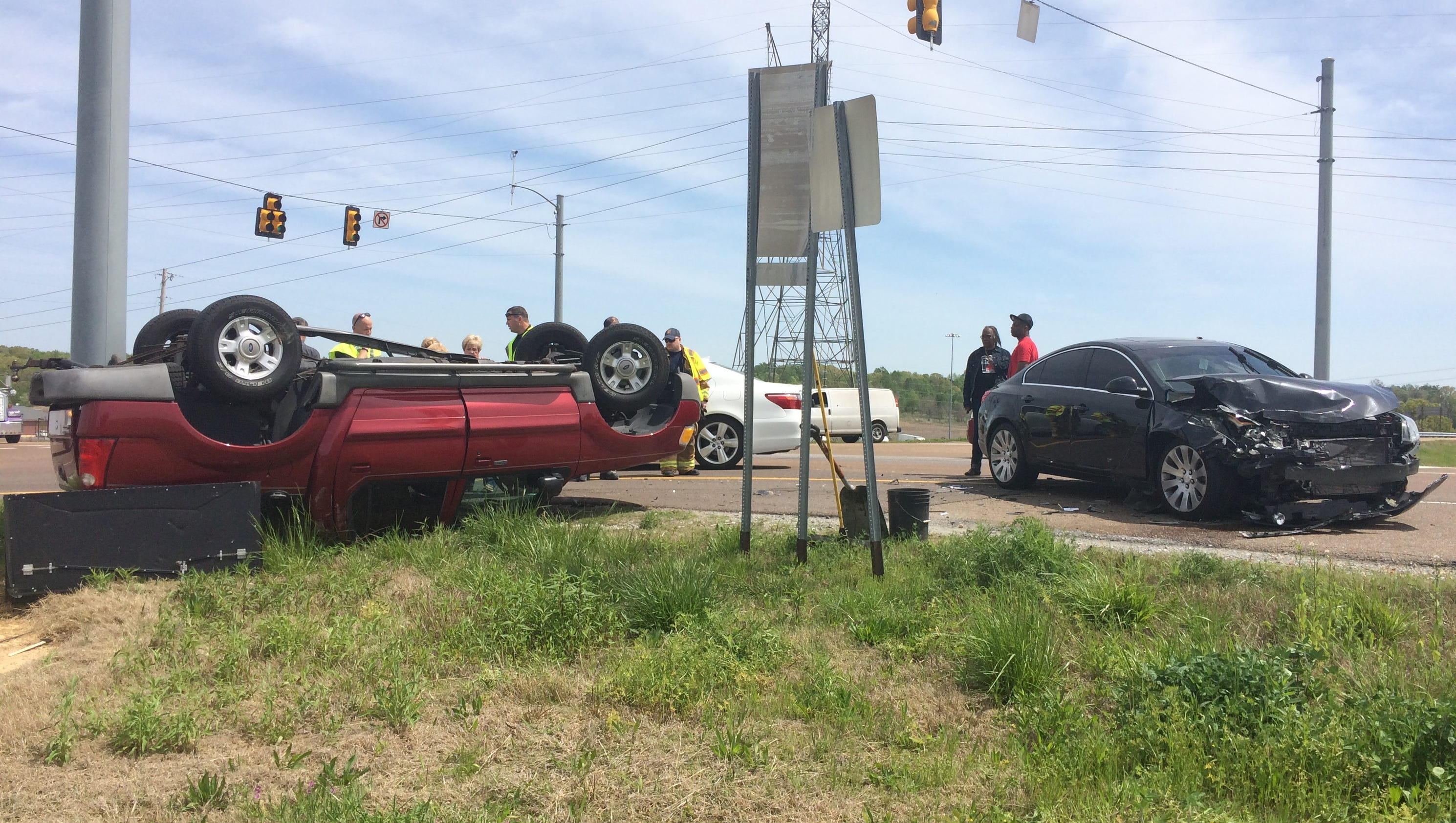 Car Accident On I  West Today