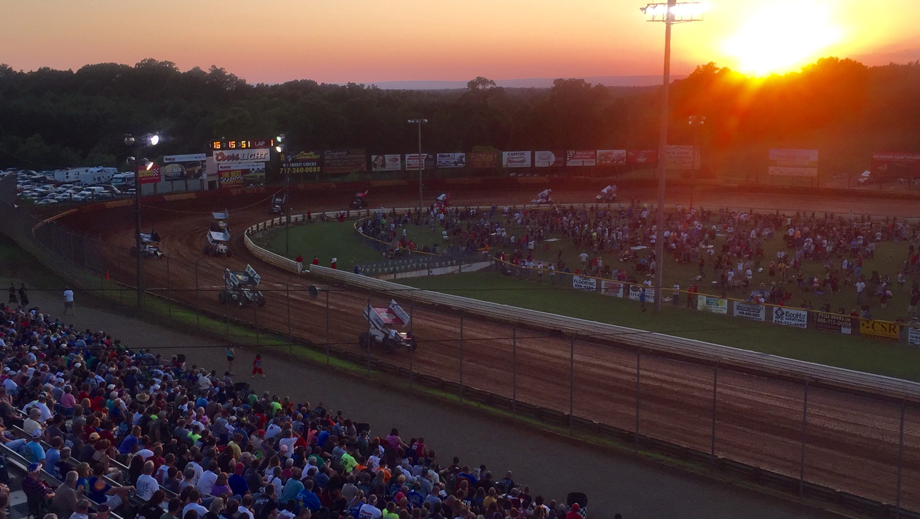 After Rainout Pa Speedway Kicks Off At Lincoln