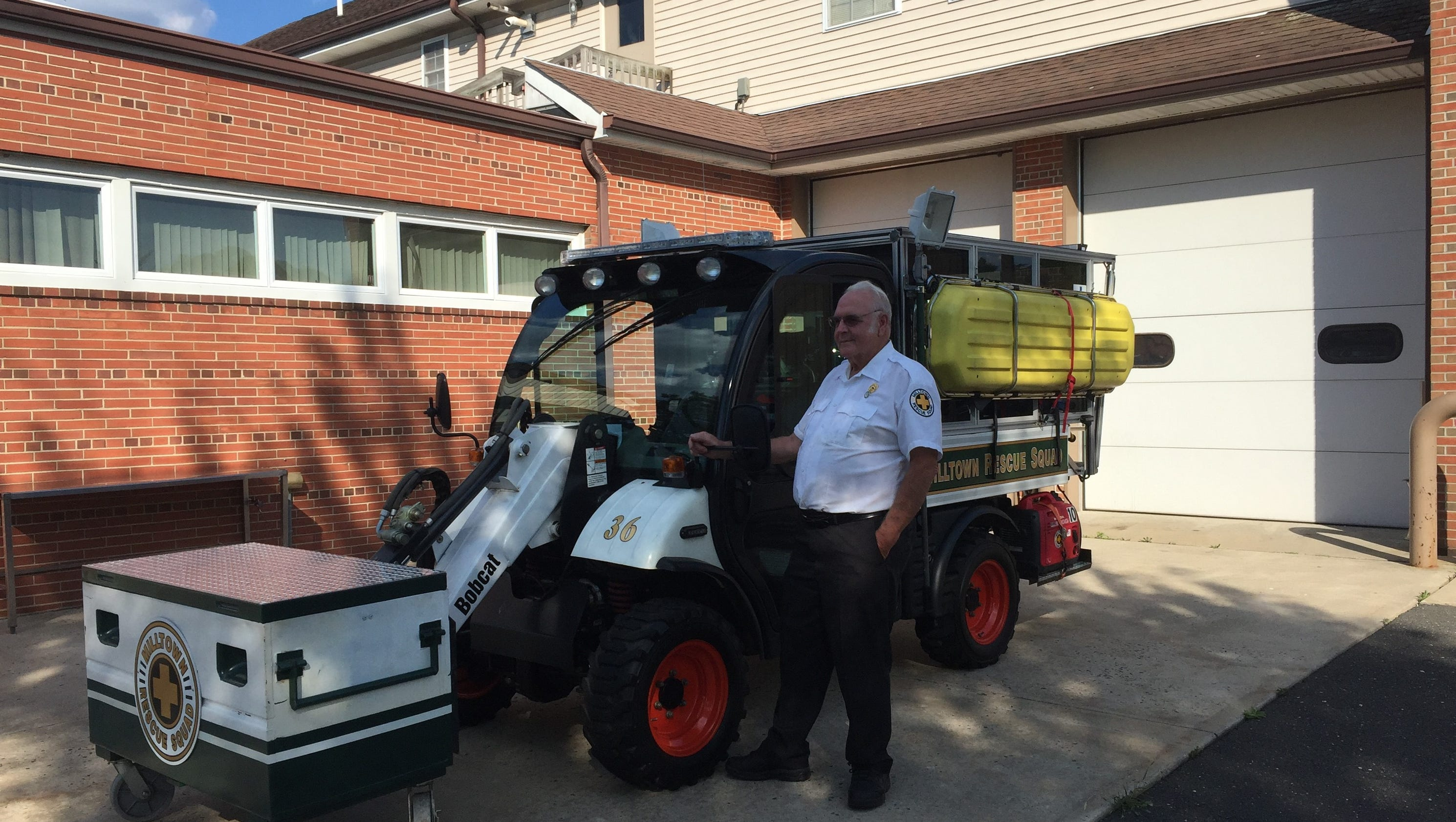longtime volunteer retires from milltown rescue squad