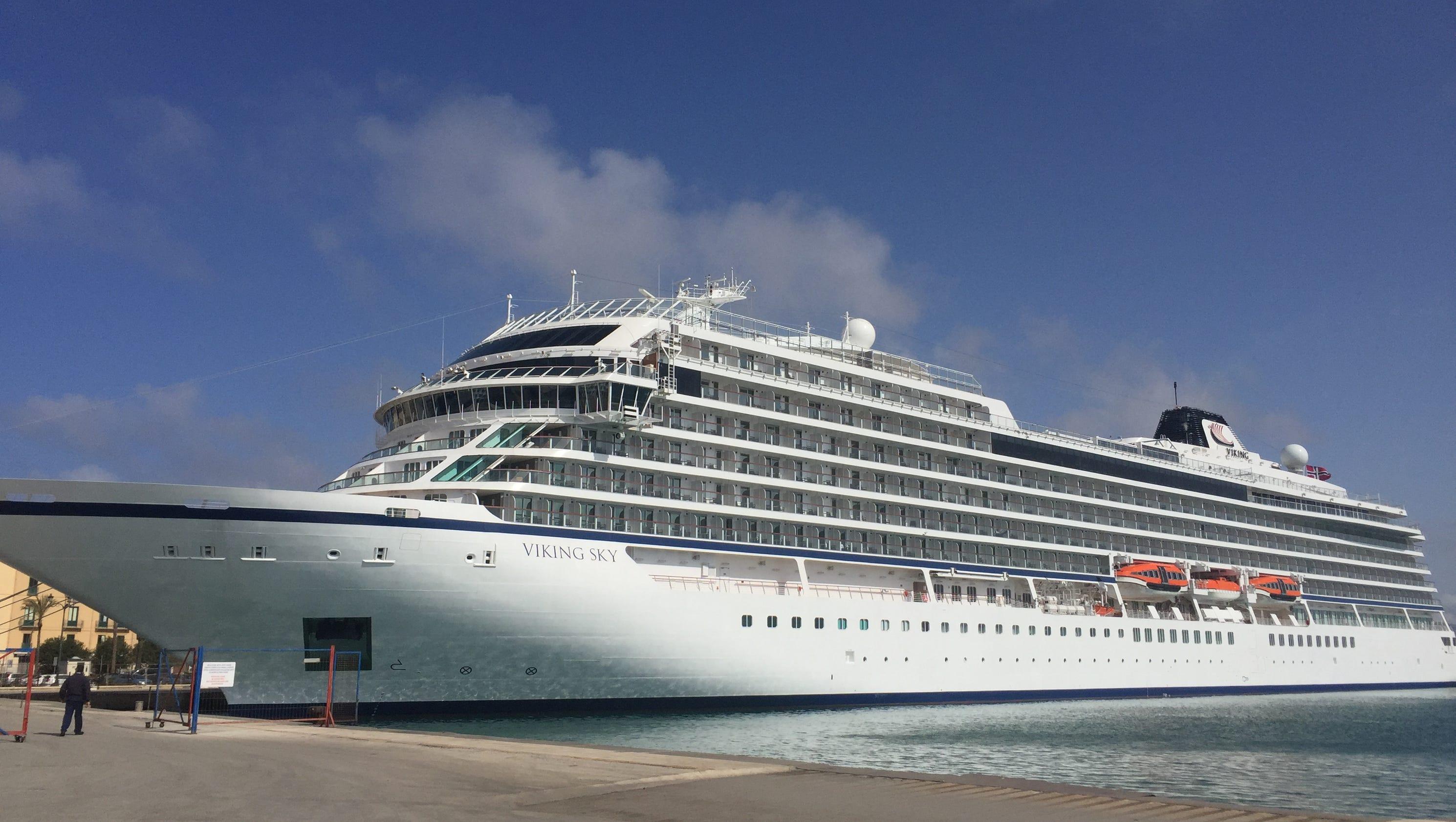 Vessel details for: VIKING SKY (Passenger Ship) - IMO ...