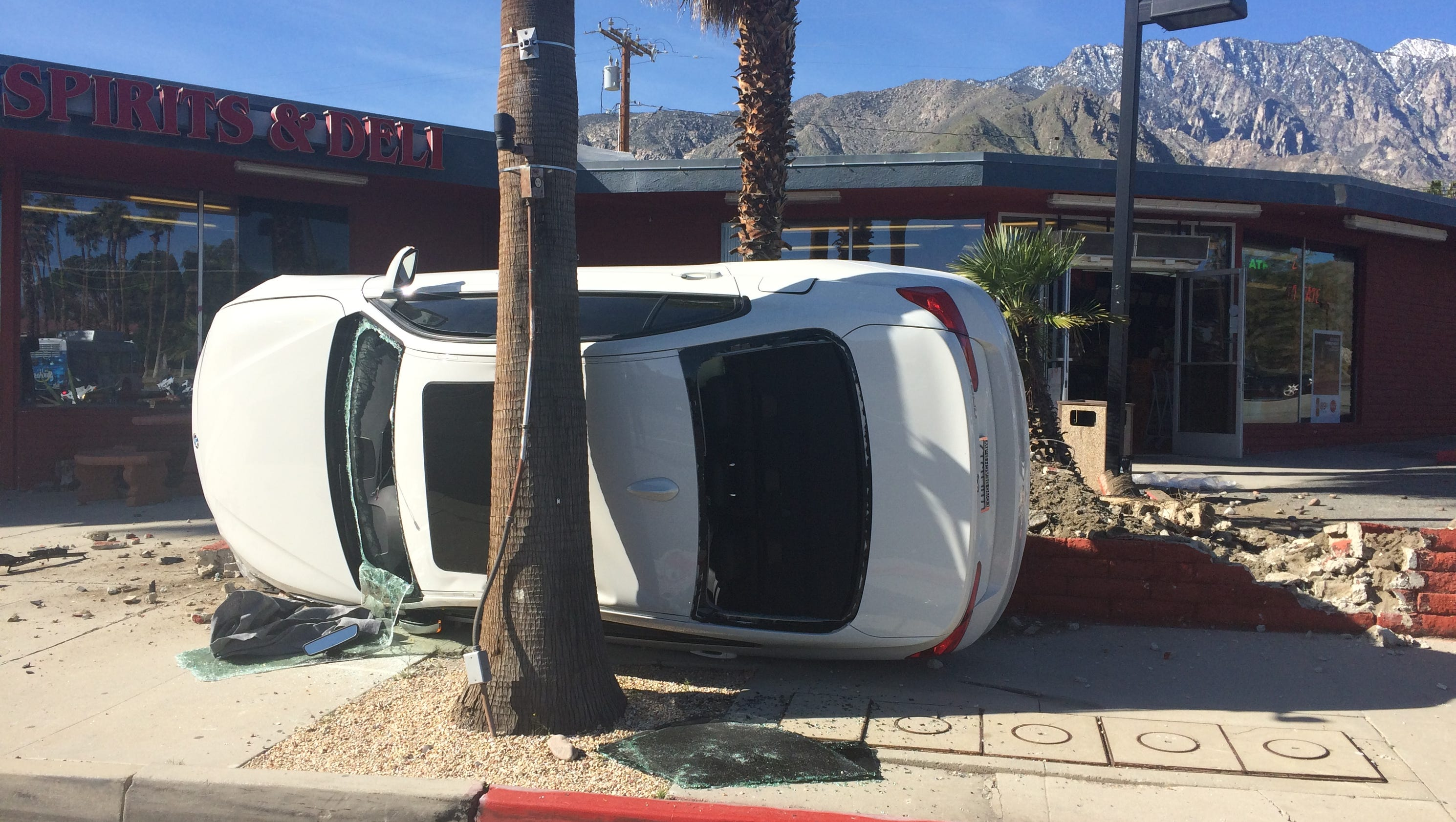 Car Crash In Palm Springs Today