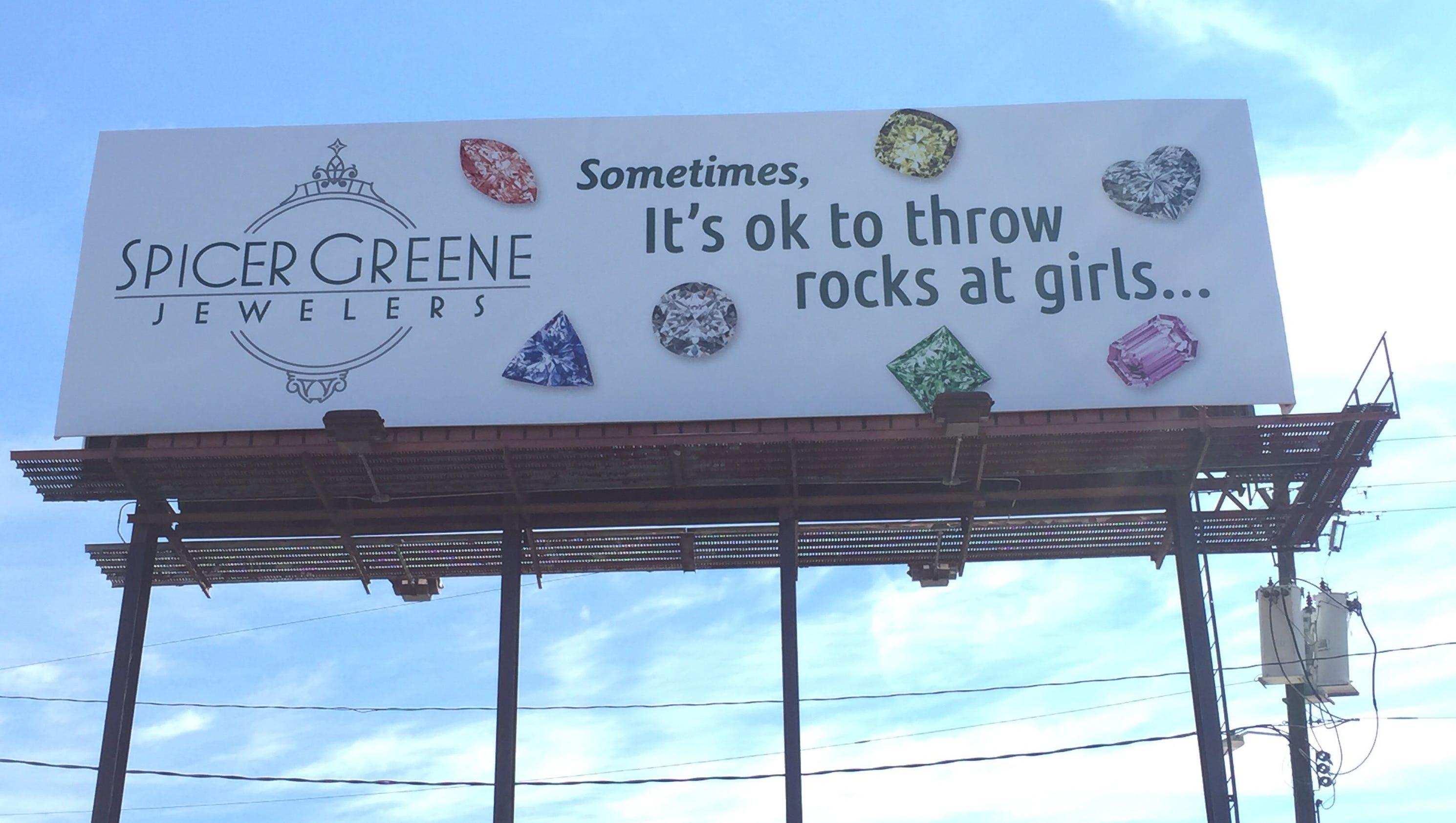 Sometimes It S Ok To Throw Rocks At Girls N C Jewelry