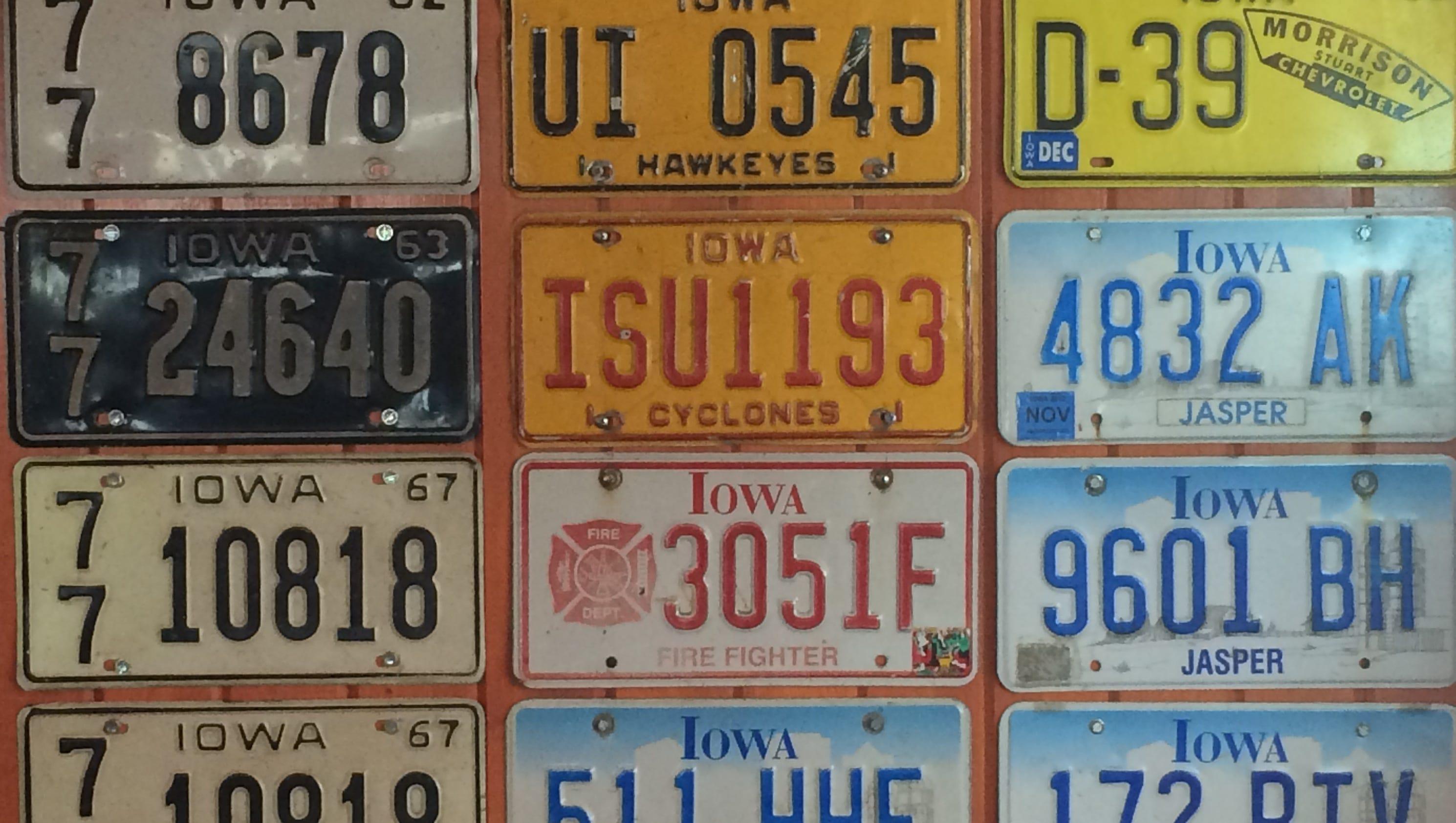 Bill to scrap one Iowa license plate resurfaces in Legislature
