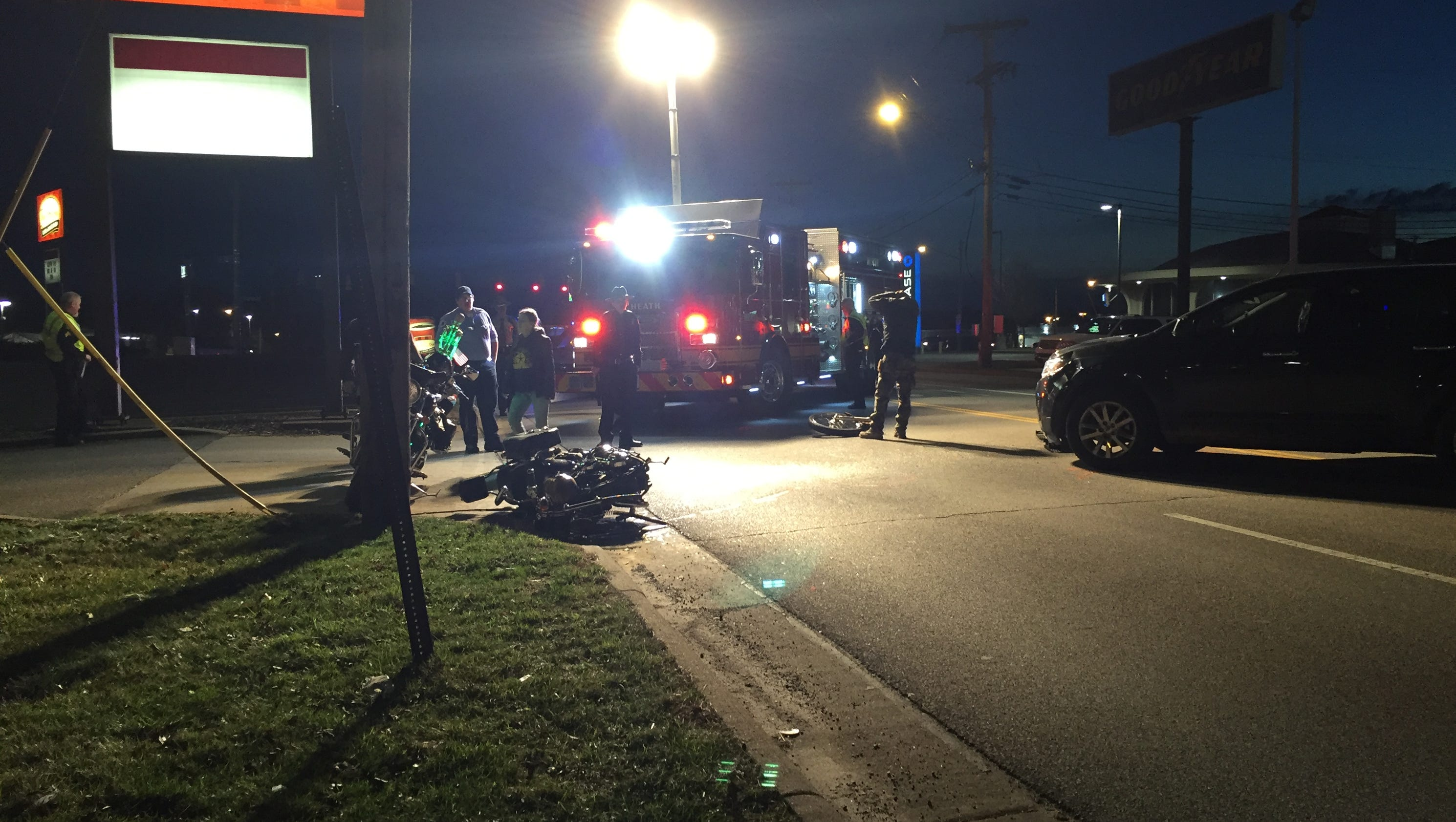Man Flown To OSU After Motorcycle Crash