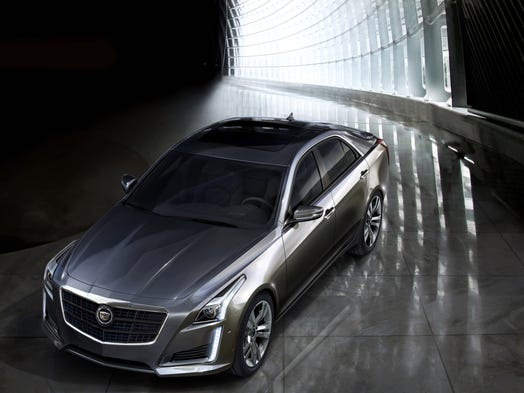 Cadillac's full remake of the CTS midsize, four-door is a pleasant to drive.