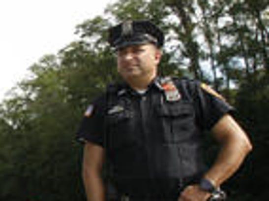 Peekskill Police Officer Chris Vazeos