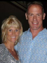 Charity Cummiskey's husband, Dr. Dan Cummiskey died in 2014 of prostate cancer. They had competed in marathons together.