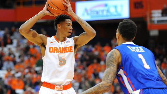 Chris McCullough averaged 9.3 points and 6.9 rebounds in his 16 games for Syracuse last season.
