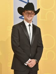 William Michael Morgan arrives at the 50th annual CMA Awards at the Bridgestone Arena Nov. 2 in Nashville.
