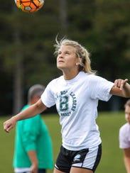 Bishop Brossart soccer player Allison Schultz is The