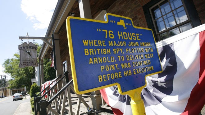 Tappan's 76 House was a hotbed of activity for local Ingress players. ( Mark Vergari / The Journal News )