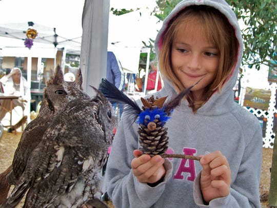 """At this Saturday's Owl-O-Ween, children will make """"camouflaged"""