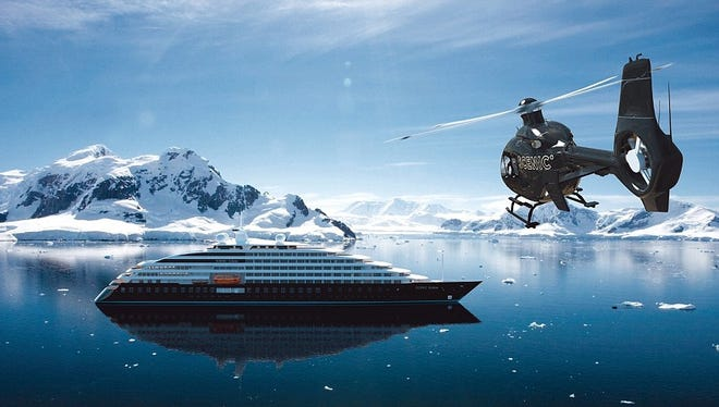 Scenic Eclipse will carry its very own helicopter when it sets sail in 2018 ...