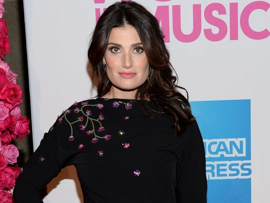 Idina Menzel attends the 2014 Billboard Women in Music