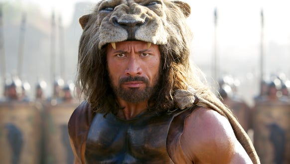 "Dwayne Johnson takes the title role in ""Hercules."""