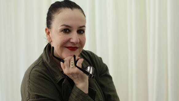 Designer Sophie Theallet, in February 2015 at her New
