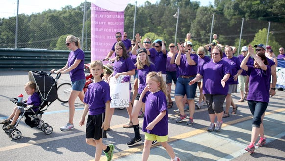The 2016 American Cancer Society Relay for Life event