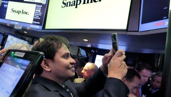 Snap Inc. Chief Strategy Officer Imran Khan uses his