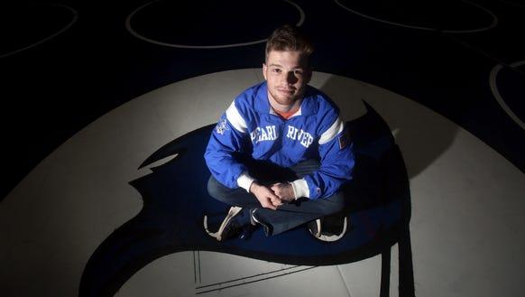 Jack Chesman, a Pearl River High School junior, is