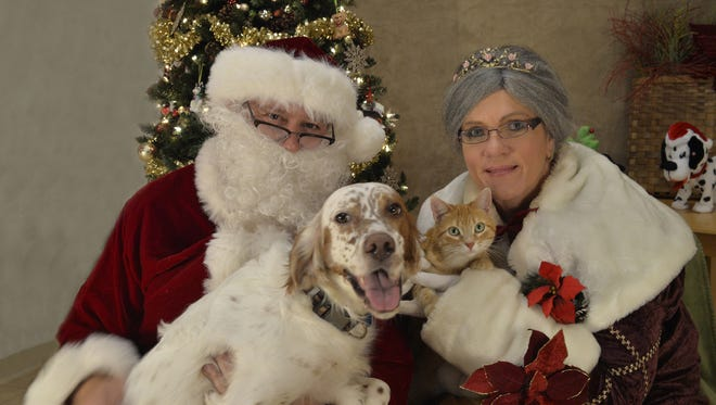 Clark County Humane Society's annual pet pictures with Santa event takes place on Dec. 2.