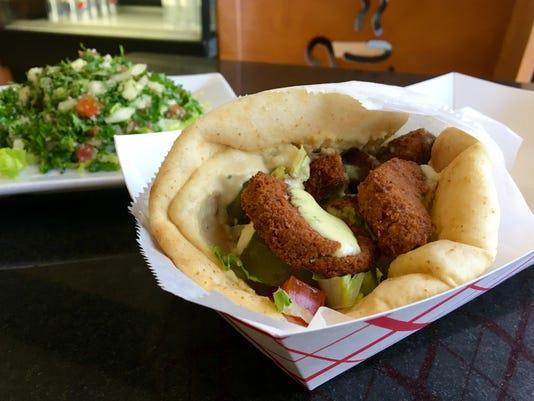 Opa! Mediterranean Gourmet Fort Myers falafel