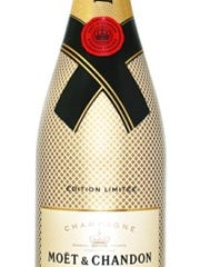 Moet & Chandon, with its Imperial Brut, is the official Champagne of the New Year's Eve celebration in Times Square.
