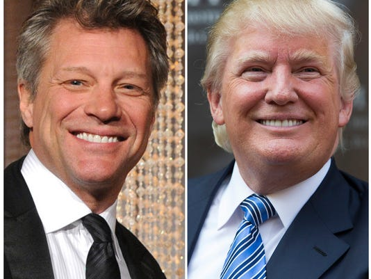 Jon Bon Jovi, Donald Trump