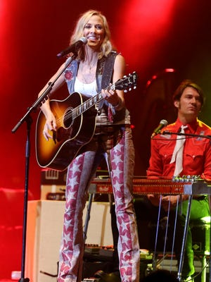 Sheryl Crow performs at Ascend Amphitheater during Nashville's July 4th celebration.