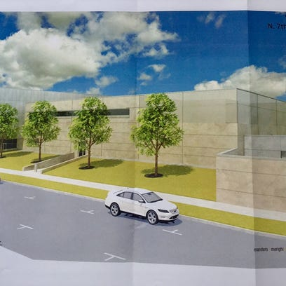 Architecture designs for the planned new Vineland Police