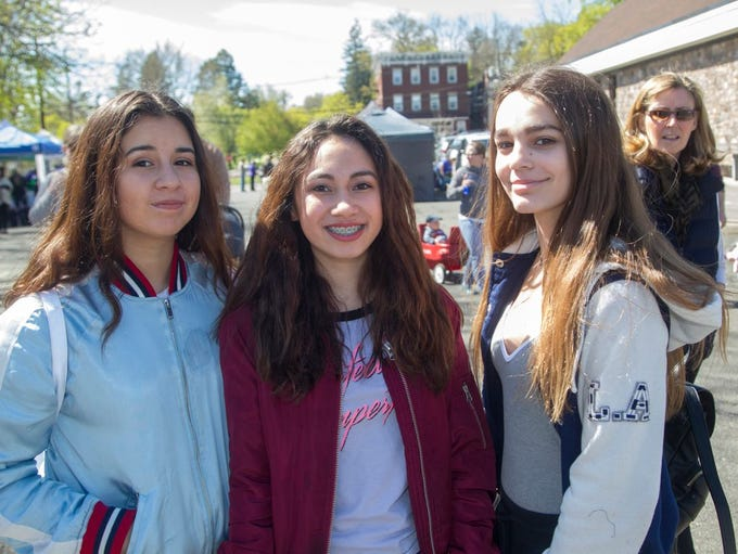 Eileen, Kaitlyn, Ginna. The sixth annual Bergen County