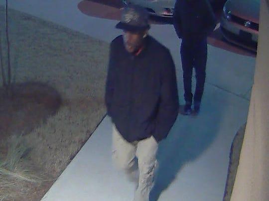 Robbery suspect.