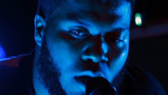 Khalid performed at Tricky Falls Saturday.