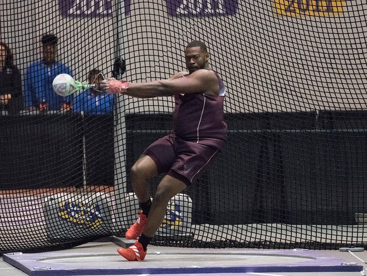 Alton Clay heads to the Sun Belt Indoor Championships