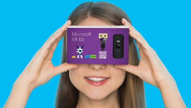 Microsoft will soon introduce its own inexpensive smartphone VR holder called VR Kit, which resembles Google Cardboard in form and function.