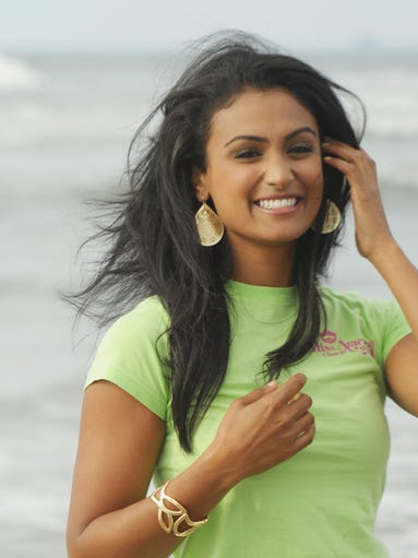Say hi to Miss America 2014 Nina Davuluri. She was crowned Sunday night in Atlantic City and been buzzed-about ever since. USA TODAY's Ann Oldenburg introduces you to Davuluri.