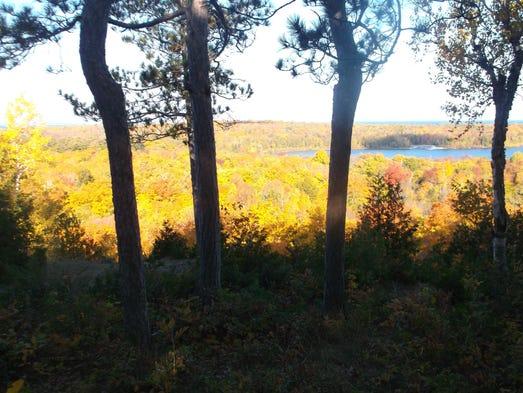 Peninsula State Park in Door County overlooking Nicolet
